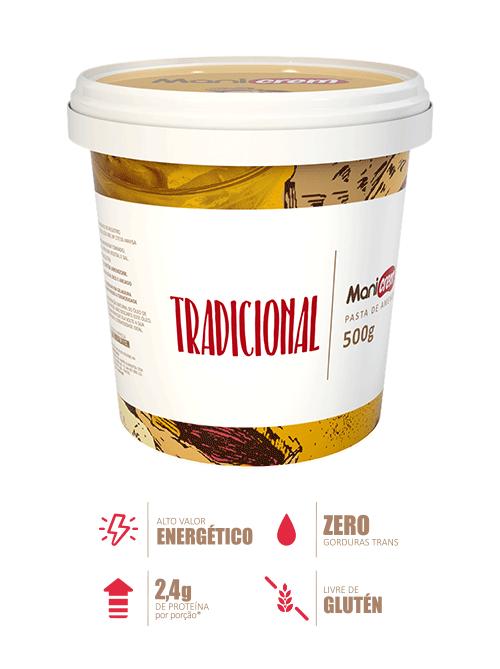 Pasta de Amendoim Tradicional - Manicrem