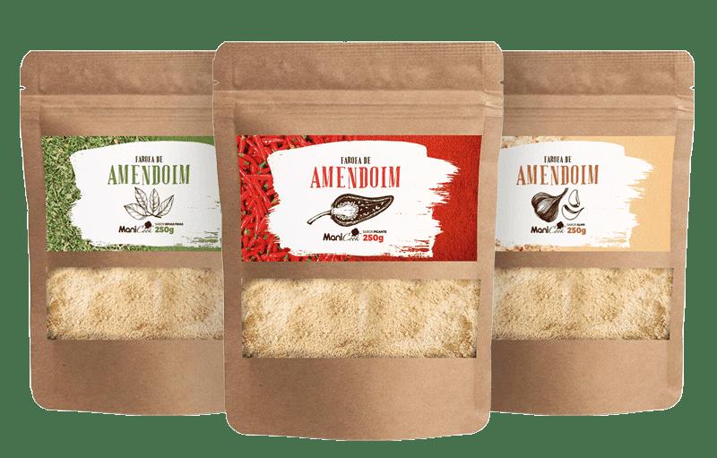 Farofas de Amendoim - Manicrem