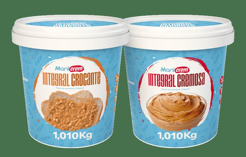 Pastas de Amendoim Linha 100% - Manicrem